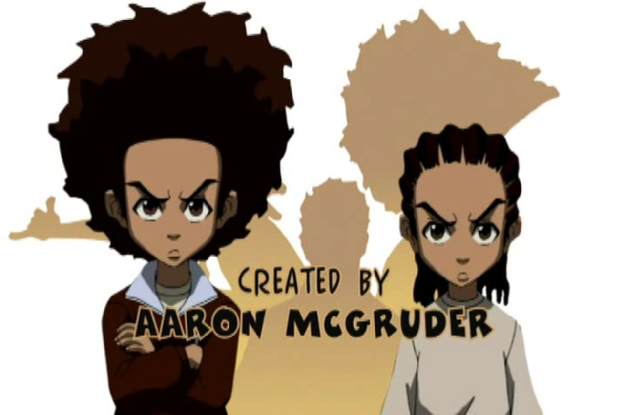 analysis of aaron mcgruders the boondocks Title: bringing afrocentricity to the funnies: an analysis of afrocentricity within aaron mcgruder's the boondocks created date: 20160731000210z.