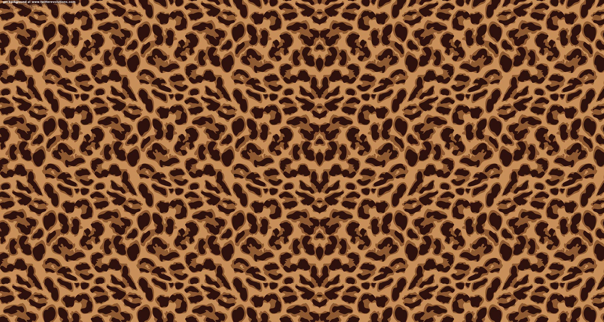 leopard print background for twitter