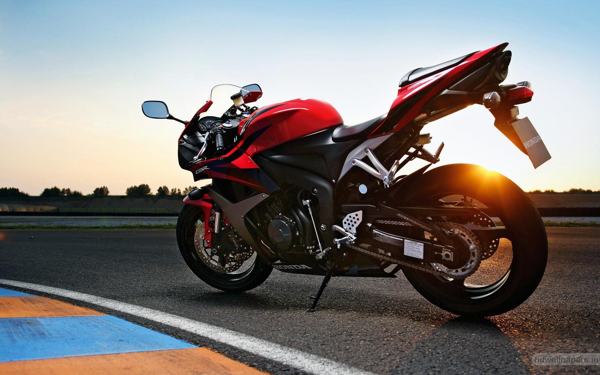Honda CBR 600RR Red HD Bike Photo HD Wallpapers 1920x1200