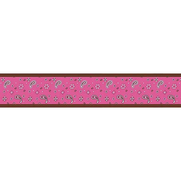 Cowgirl Western Bandana Wallpaper Border by Sweet Jojo Designs 613x613