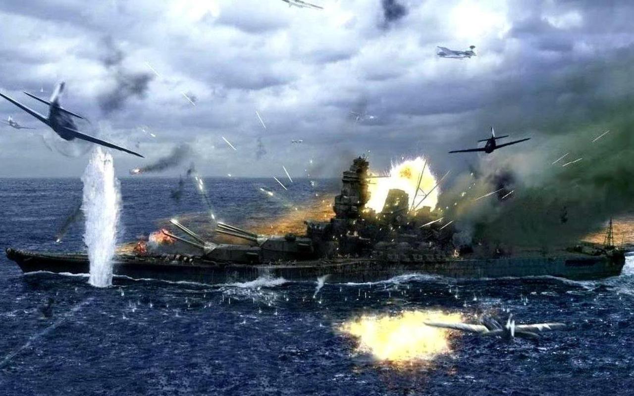Yamato Battleship World Of Warships Illustration By KrIM art 1280x800