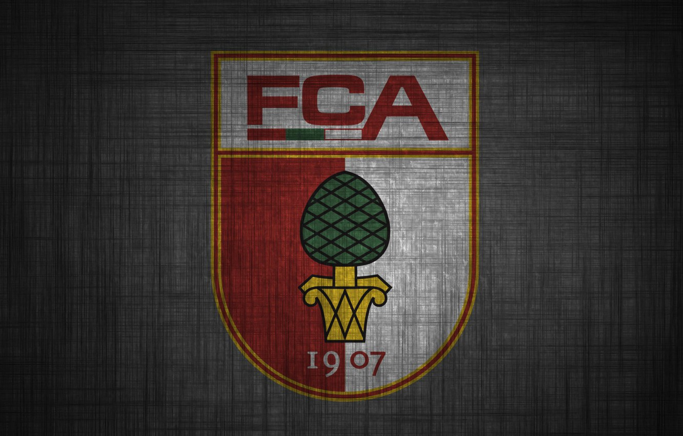 Wallpaper wallpaper sport logo football FC Augsburg images for 1332x850