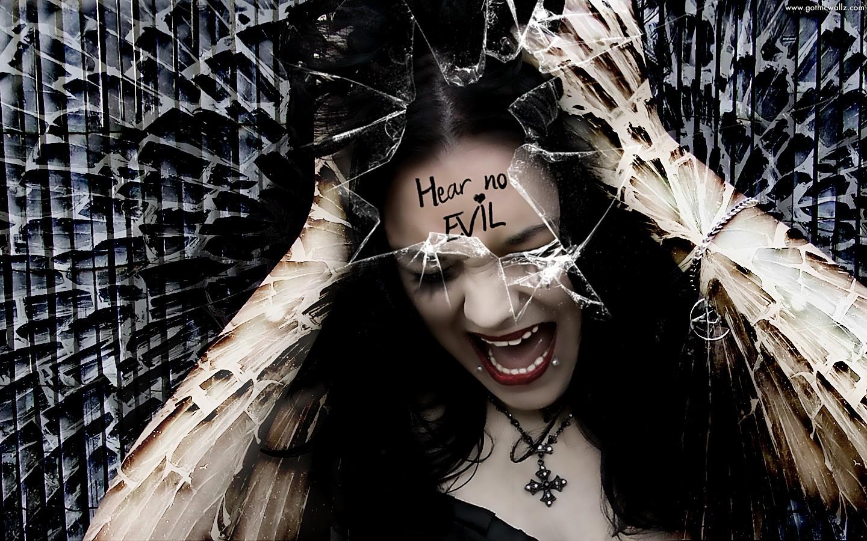 Scream Gothic Girl 1440x900