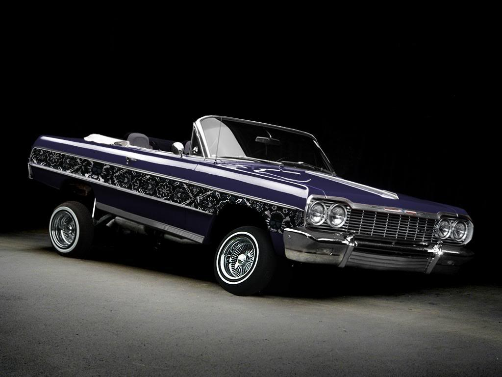 Lowrider Cars Wallpapers 1024x768