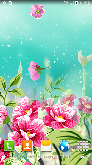 Flowers by Live wallpapers live wallpaper for Android Flowers by Live 309x550