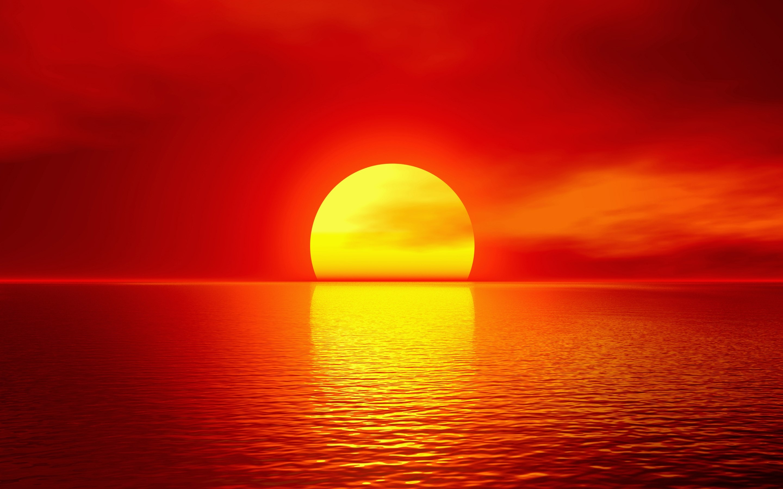 Amazing Summer Sunset Wallpaper   [2880 x 1800] 2880x1800