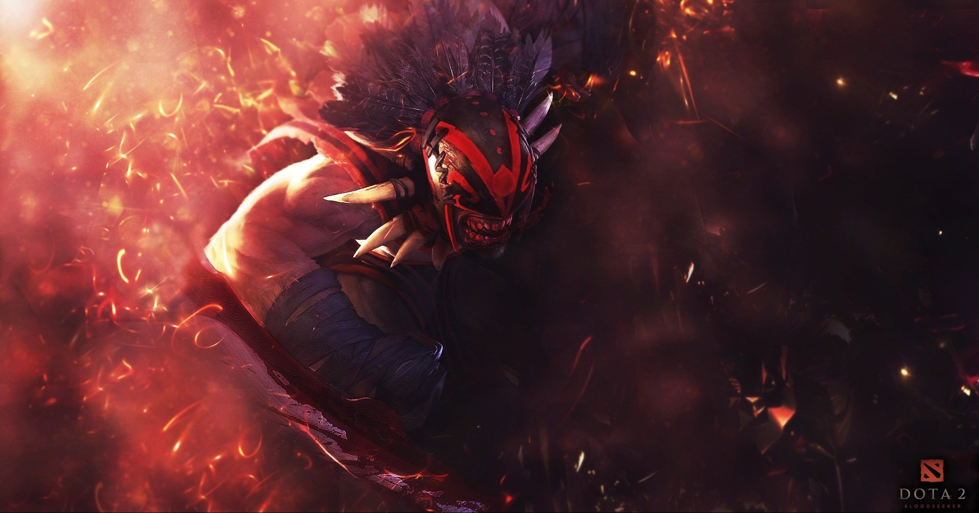 5 Bloodseeker Dota 2 HD Wallpapers Background Images 1920x1006