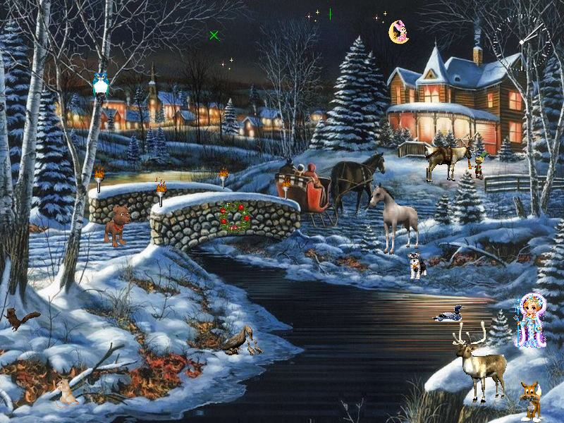 3d winter scenes wallpaper - photo #33