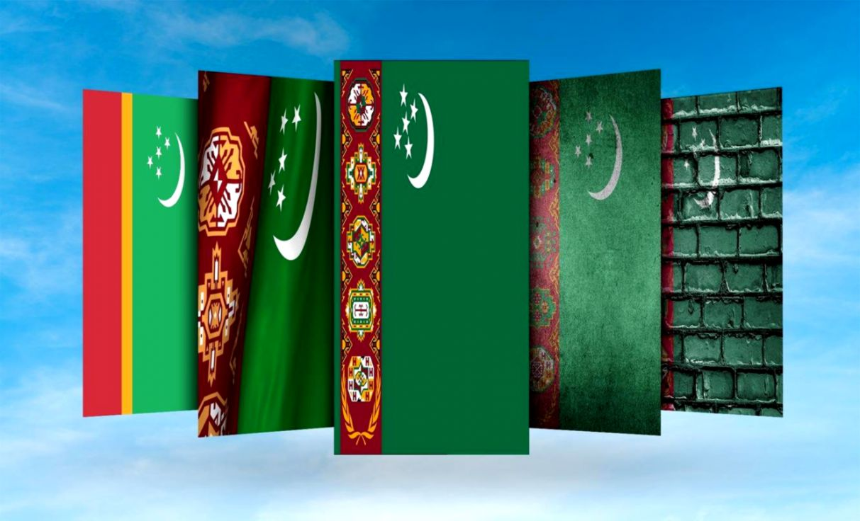Turkmenistan Countries Flag Wallpaper Genius Wallpapers 1213x736