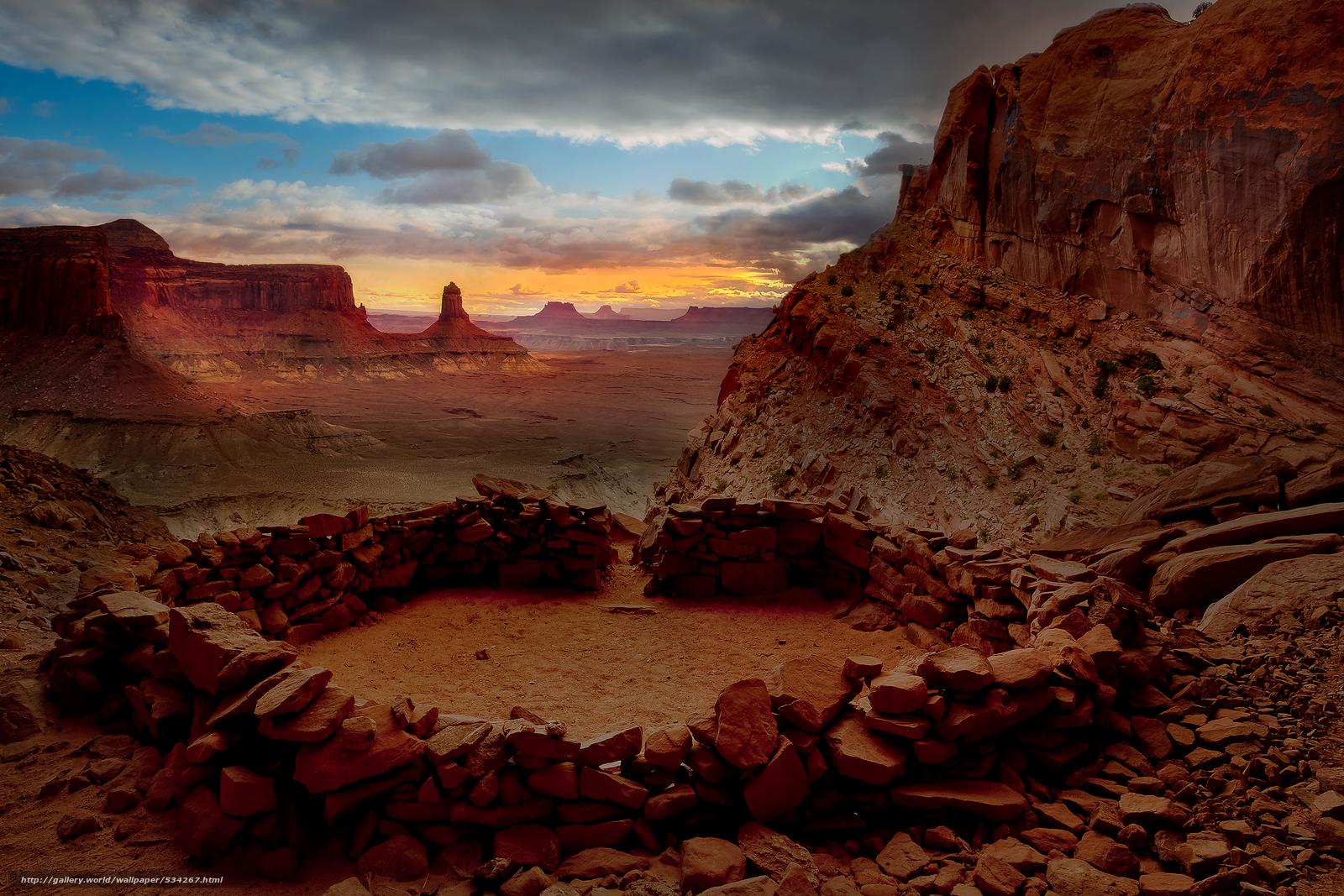 bit of ancient times   false kiva canyonlands national park utah 1600x1067