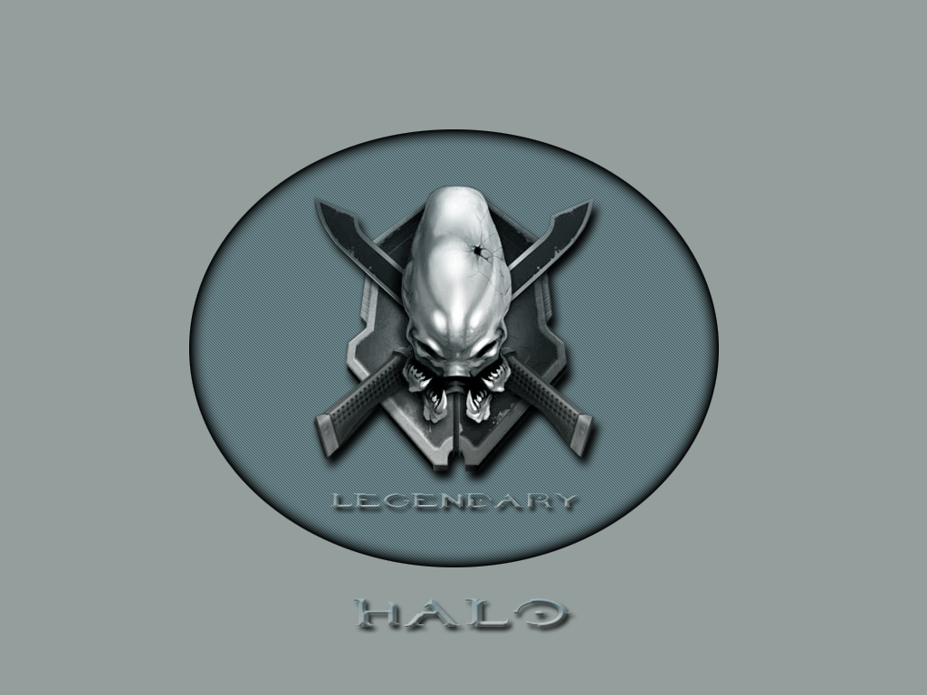 Legendary Halo Wallpaper by redwire988 1024x768