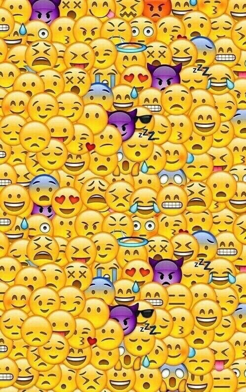 Free Download Cool Cute Emoji Wallpapers Image 3924940 By