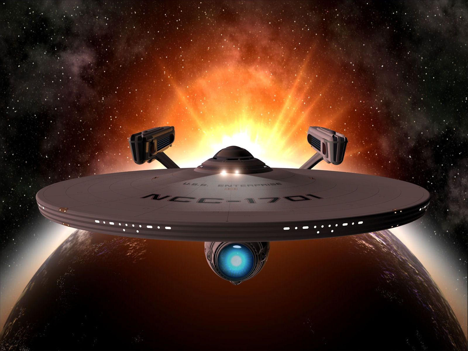 NCC 1701 A For me the one that started it all And lord isnt 1600x1200
