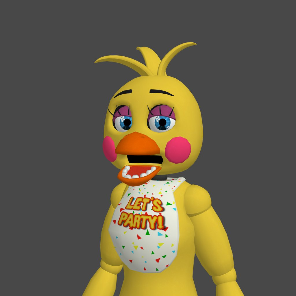 FNAF Toy Chica Wallpaper