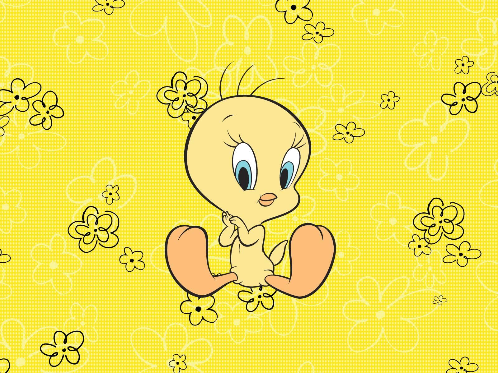 Baby looney tunes wallpaper tweety