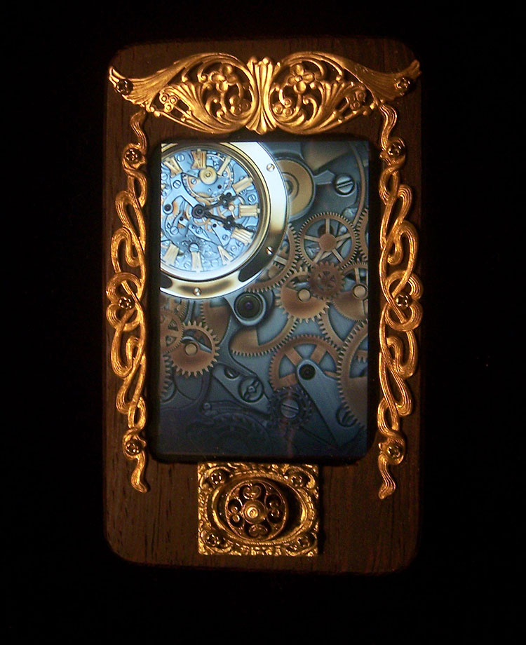 Apple Gets Steampunked Steampunk District   Steampunk Fashion Art 750x920