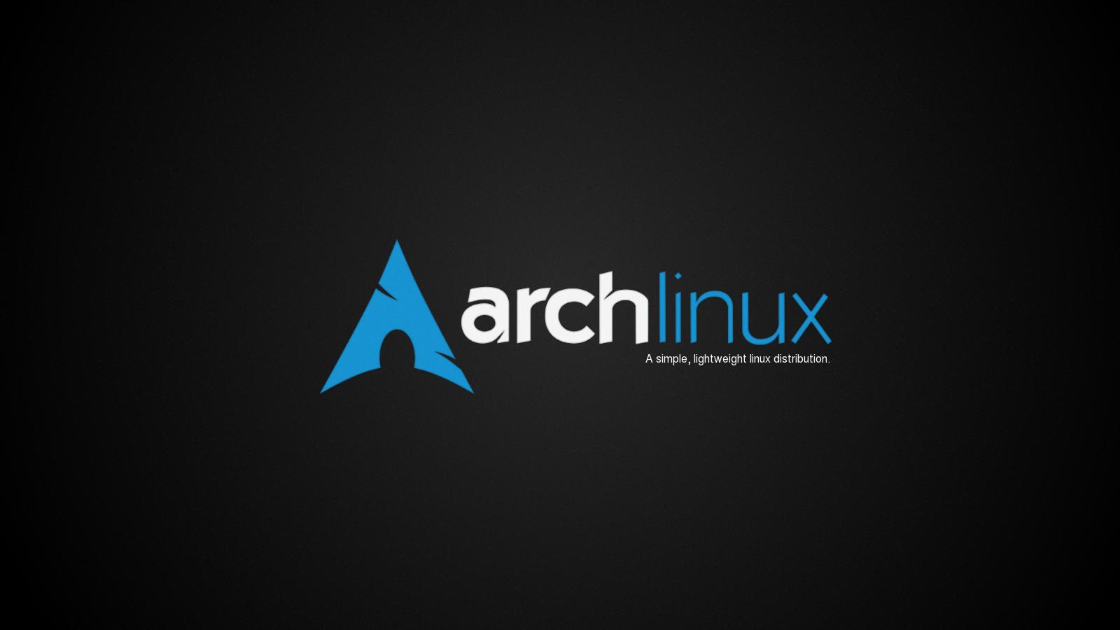 arch linux wallpaper black - photo #13