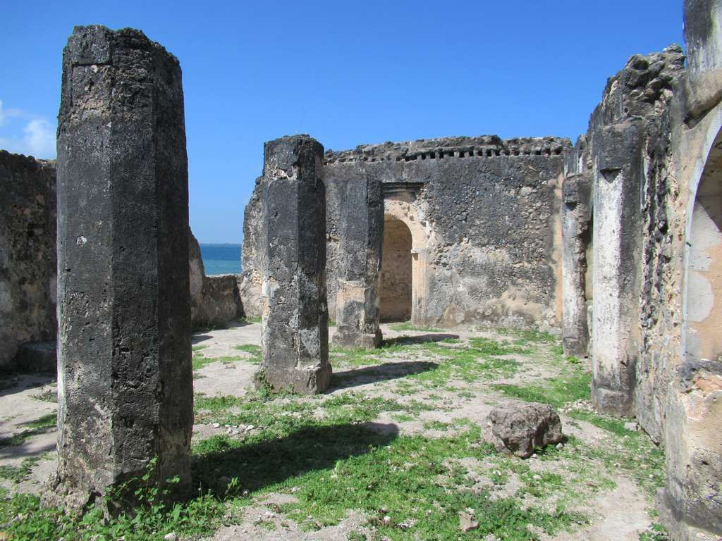 The 15th century Malindi Mosque at Kilwa Kisiwani Tanzania was 1024x768