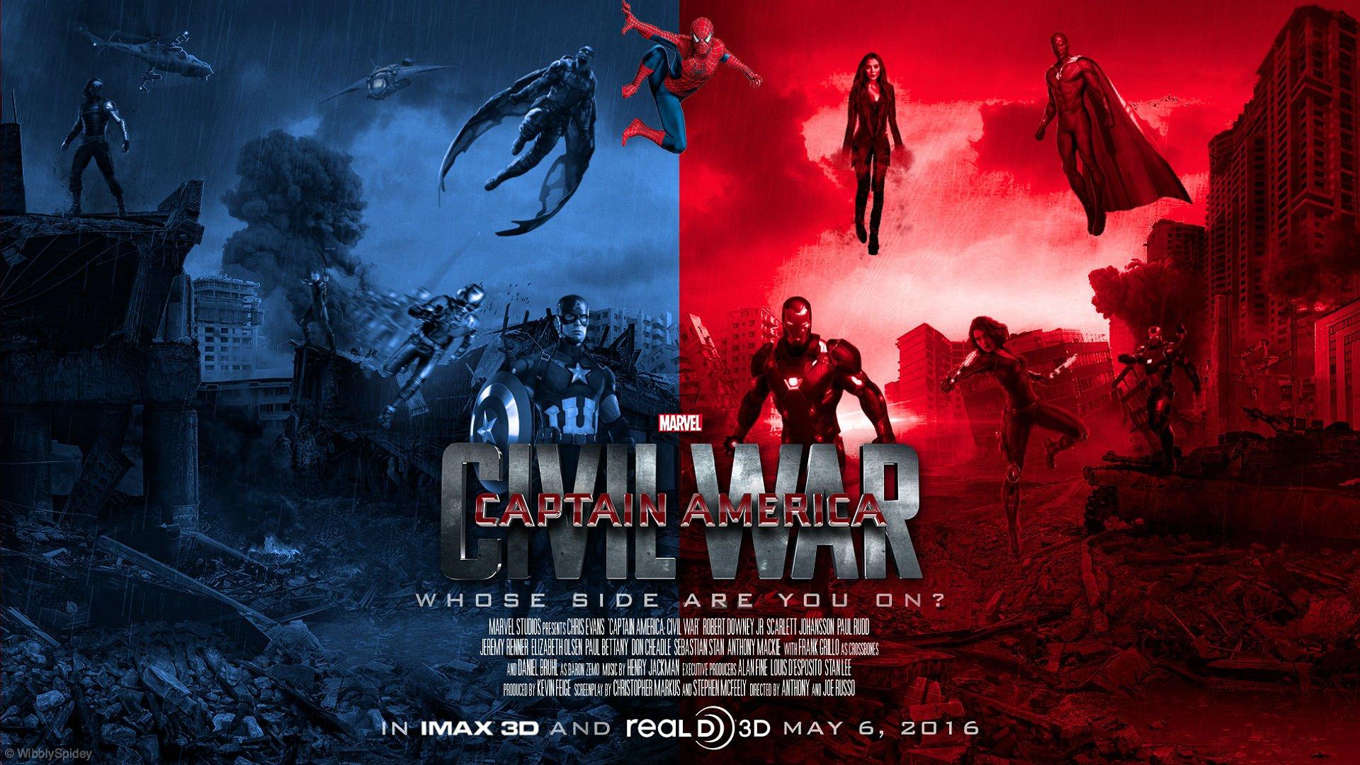 CAPTAIN AMERICA 3 Civil War marvel superhero action fighting 1cacw 1920x1080