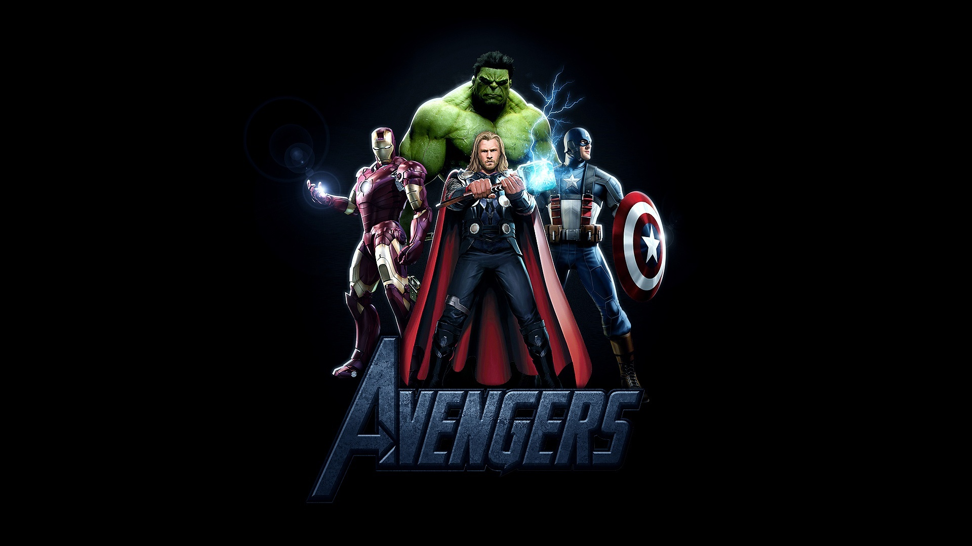 Avengers Logo Wallpaper Wallpapersafari