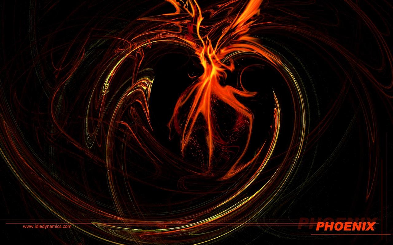 Phoenix Bird Desktop Wallpaper PicsWallpapercom 1280x800