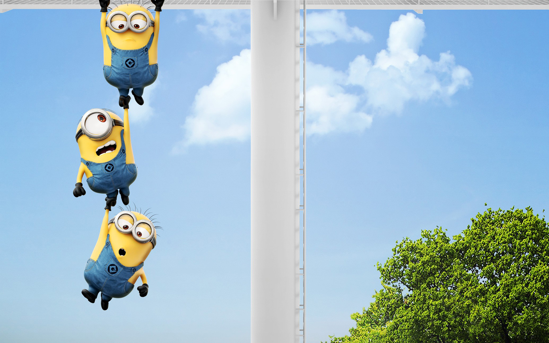 Funny minion wallpapers wallpapersafari - Despicable me minion screensaver ...