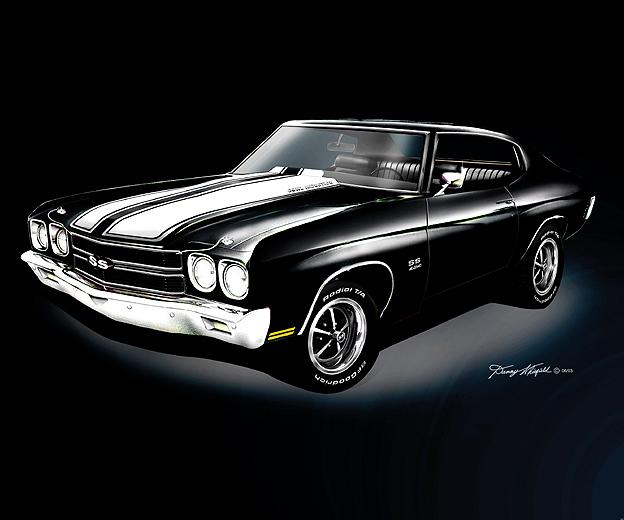 Black 1970 Chevelle SS Wallpaper Black 1970 Chevelle SS Desktop 624x520