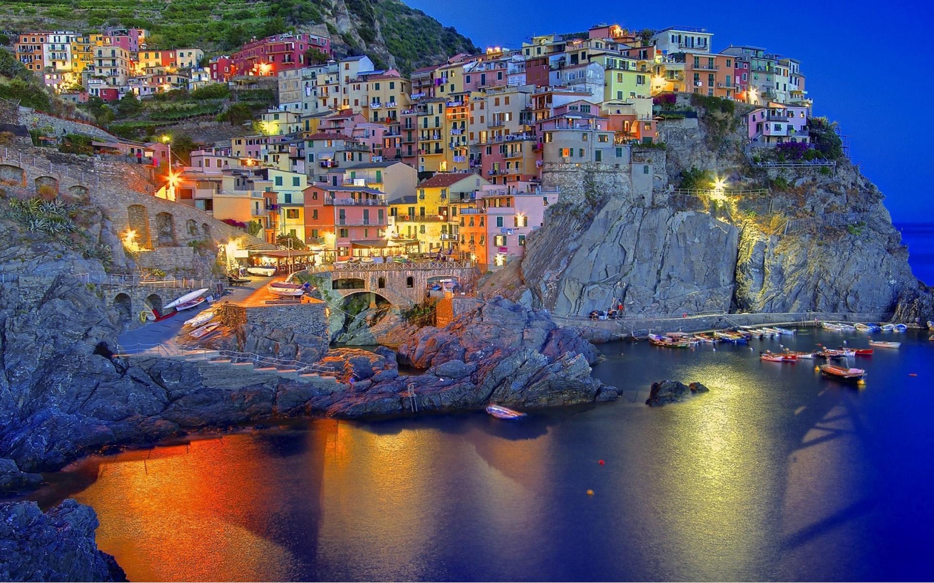 Amalfi Coast In Liguria Italy Desktop Background 70635 1920x1200