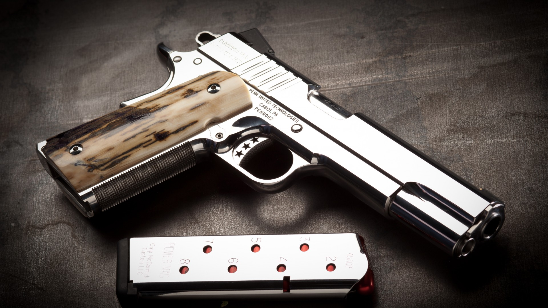 Cabot Guns Wallpaper Military Weapons Cabot Guns pistol 1911 1920x1080