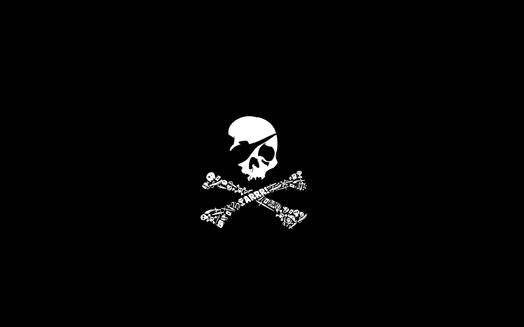 pirate jolly roger flags 1680x1050