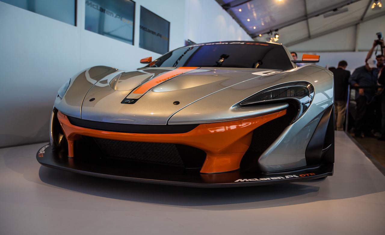McLaren P1 GTR photo 1280x782