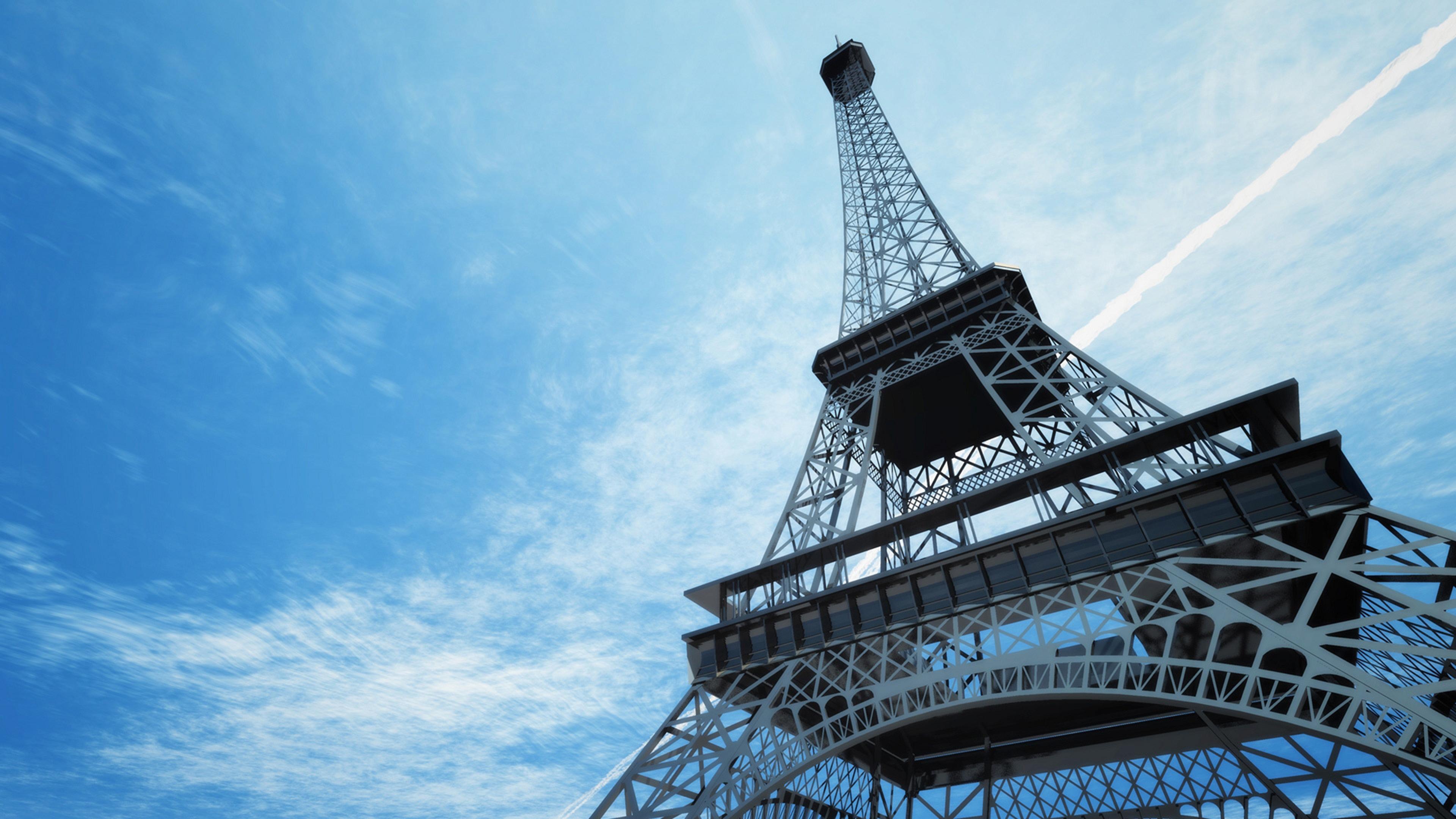 Free Download Paris France Eiffel Tower Skyline Wallpaper Background 4k Ultra Hd 3840x2160 For Your Desktop Mobile Tablet Explore 50 4k Nature Wallpaper Winter France 4k Hd Wallpaper Best