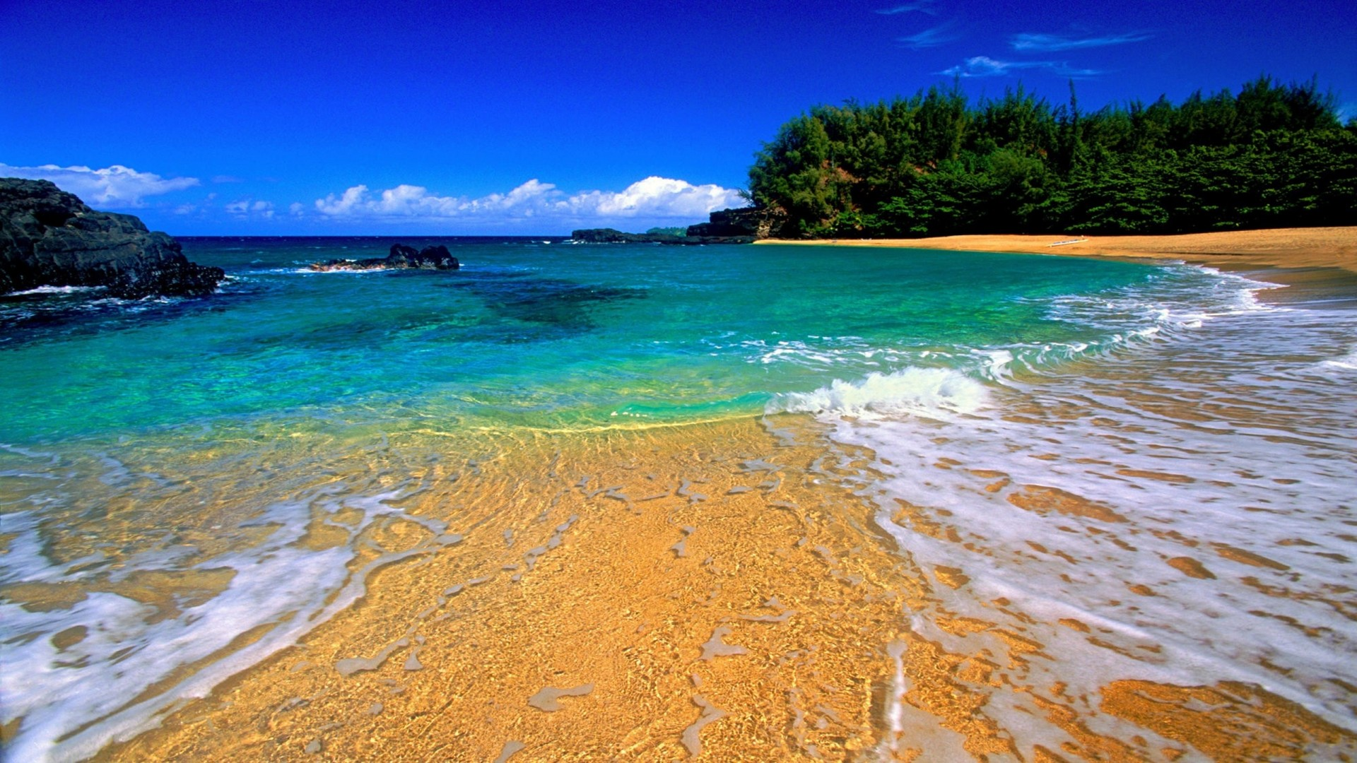 Lumahai Beach Kauai Hawaii 324 Wallpapers13com 1920x1080