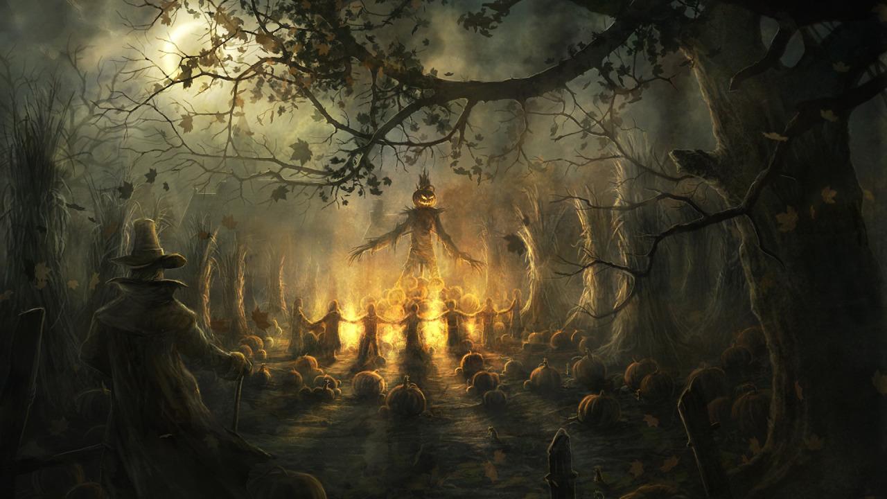 Halloween Ritual widescreen wallpaper Wide WallpapersNET 1280x720