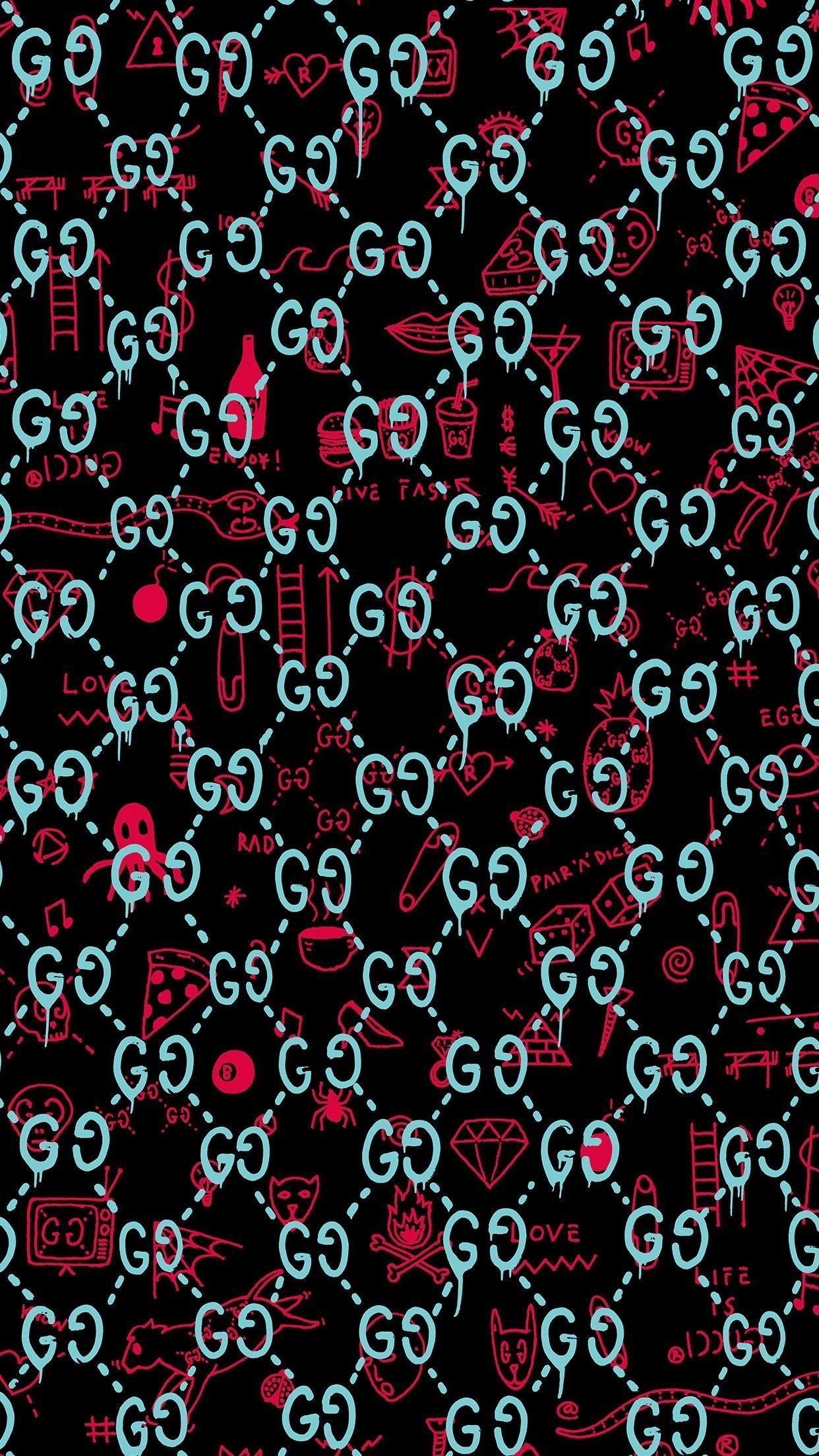 Gucci Wallpapers   Top Gucci Backgrounds   WallpaperAccess 1242x2208