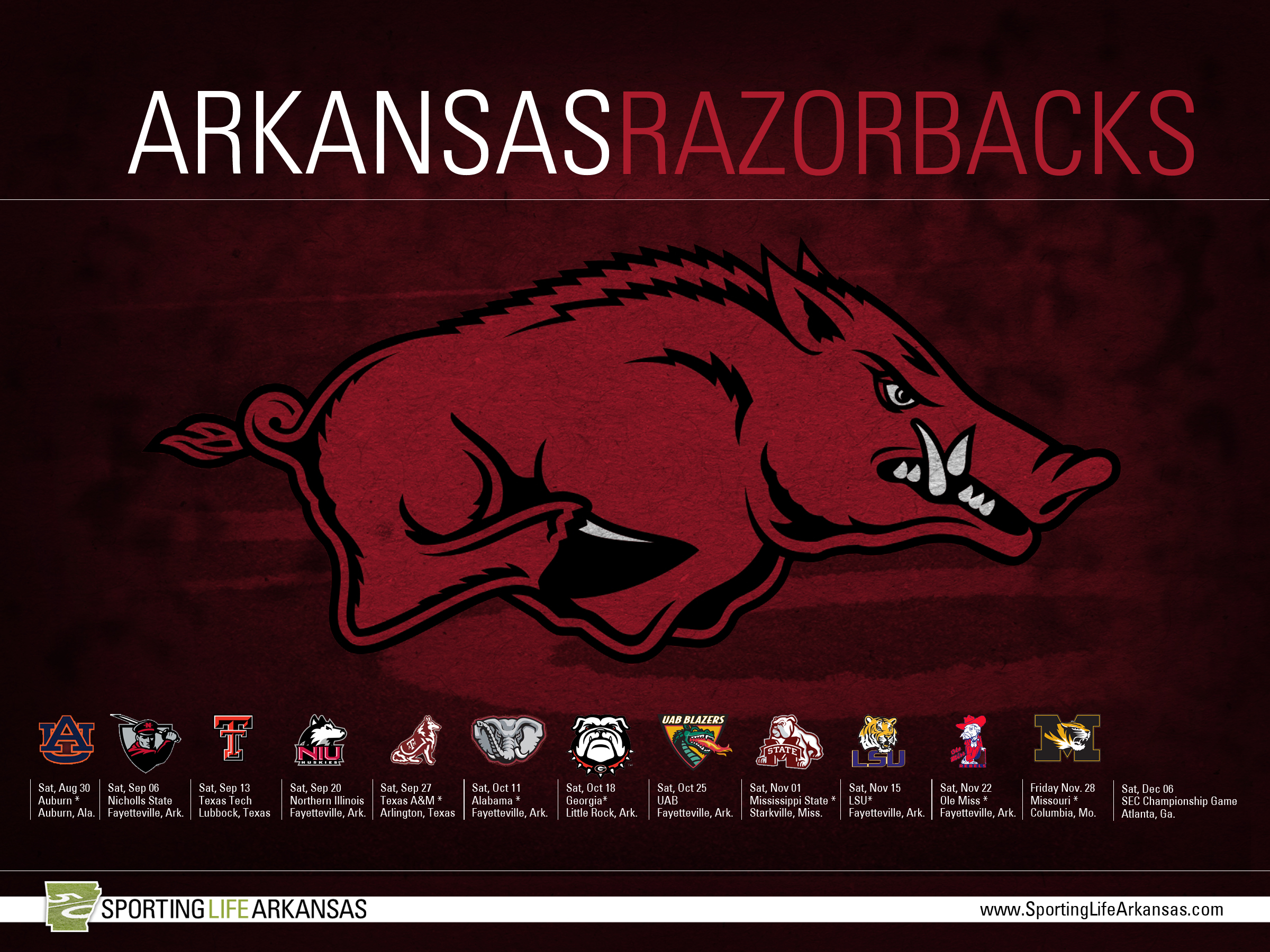Arkansas Wallpapers Browser Themes More for Razorbacks Fans 2400x1800