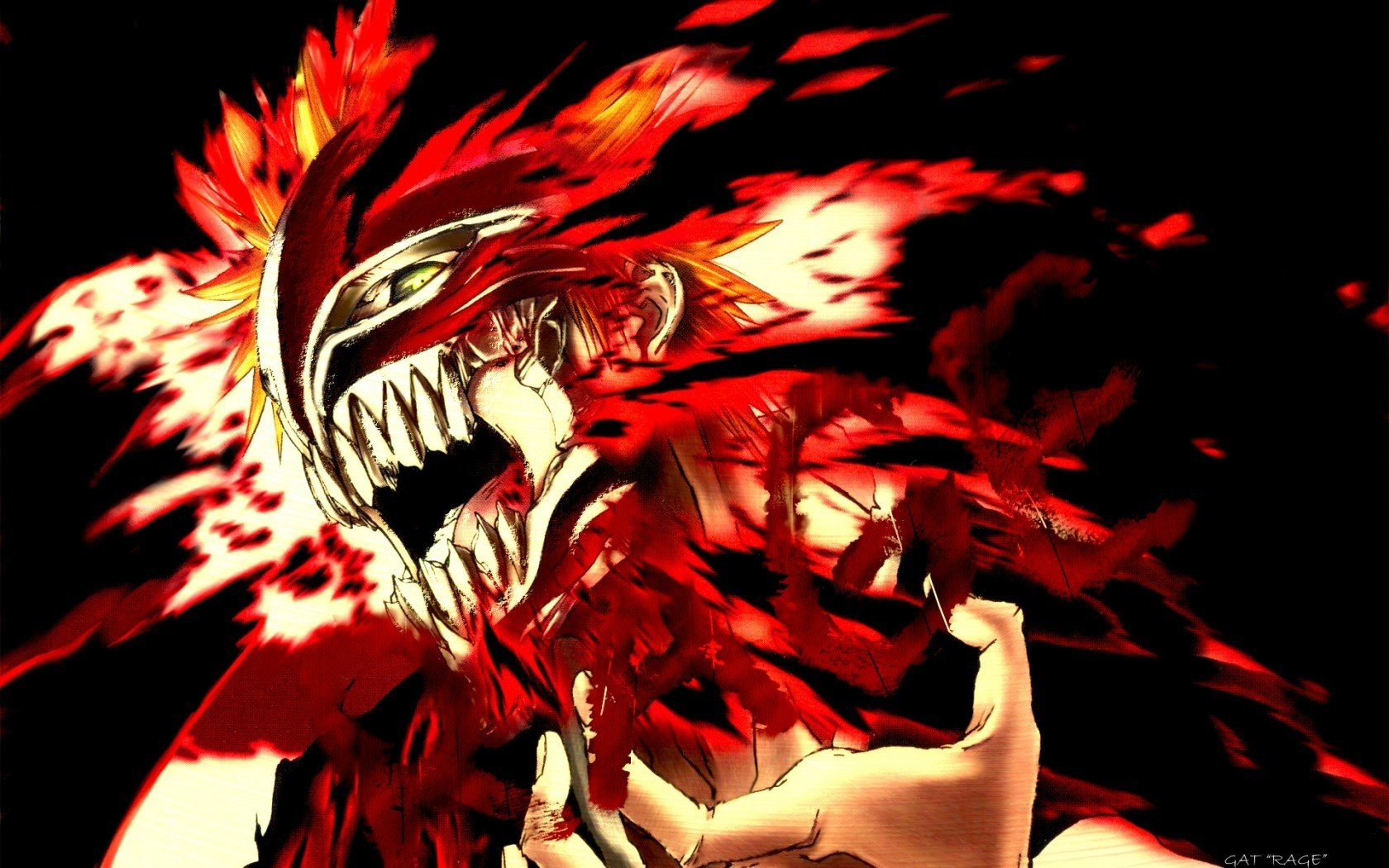 Bleach Pics hollow Ichigo   Bleach Anime Wallpaper 8637954 1680x1050