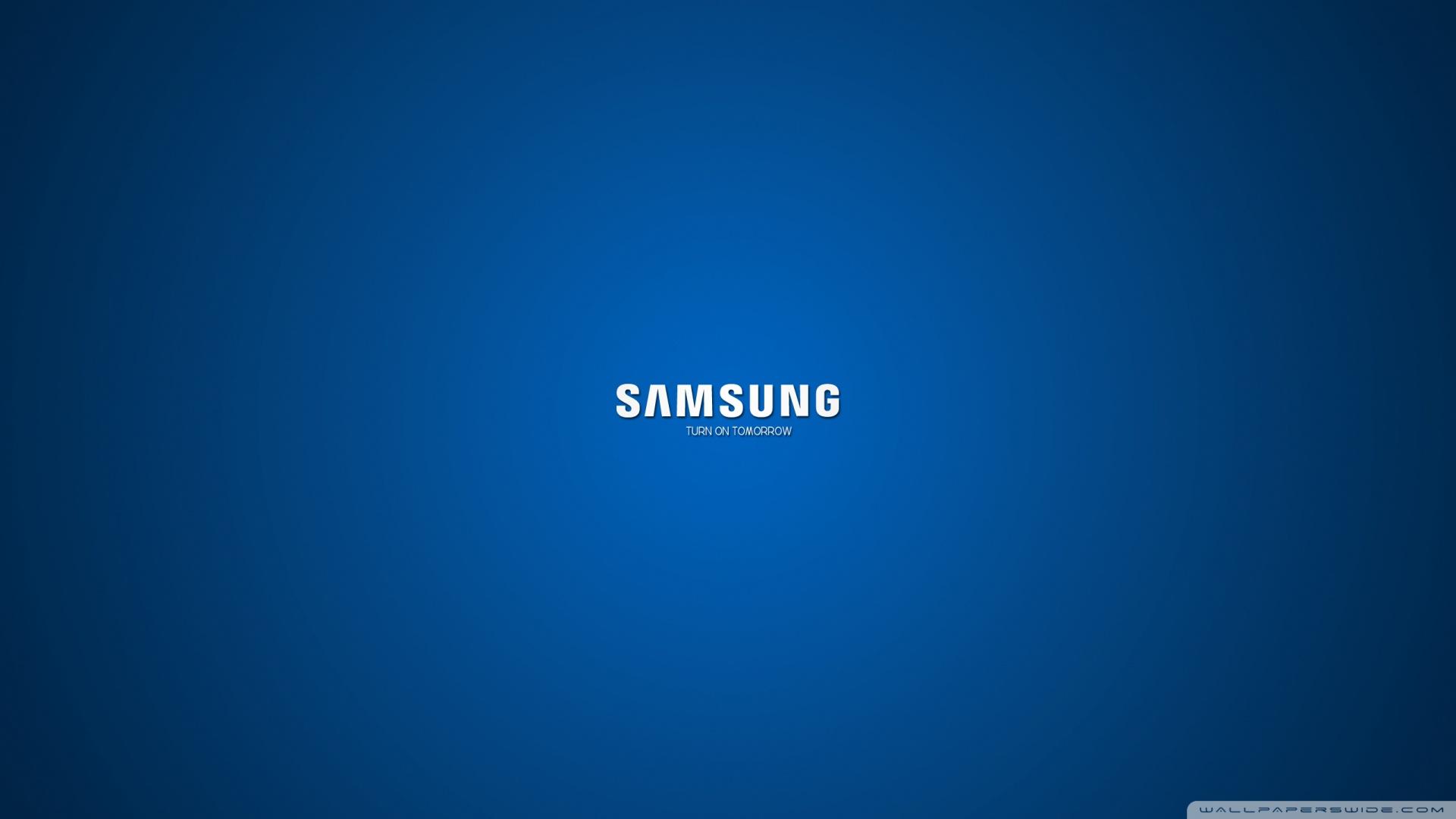 Samsung Turn On Tomorrow Wallpaper 1920x1080 Samsung Turn On 1920x1080