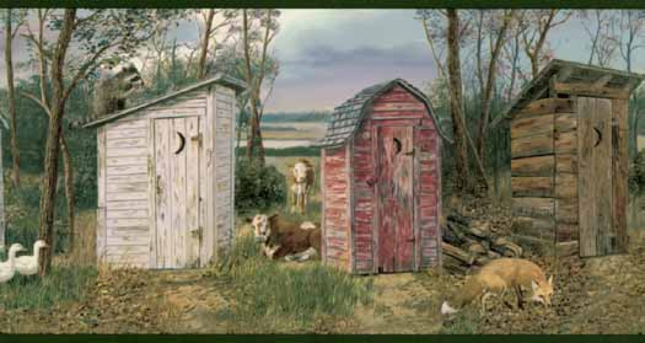 rustic outhouse wallpaper border hs3061b wallpaper border 1280x720jpg 1280x680