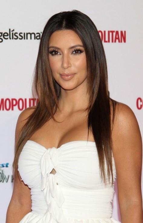 Download Actress Kim Kardashian Latest Hairstyle Trends 2013 Wallpaper 473x733