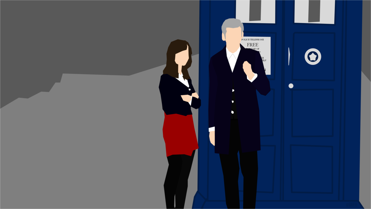 Doctor Who Series 8 Desktop Background by skauf99 1191x670