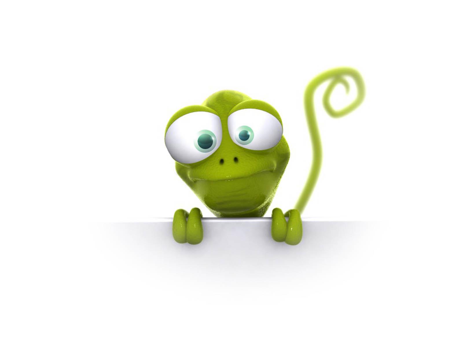 Home Cartoon Funny Cartoon 3d Frog HD Desktop Wallpaper 1600x1200