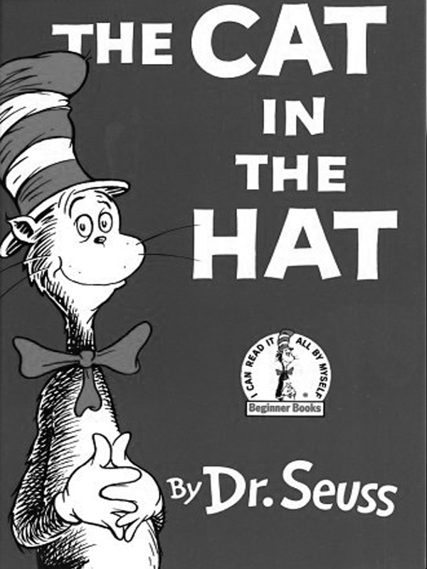 dr seuss The Cat in the Hat   Book Covers   E Reader 600x800