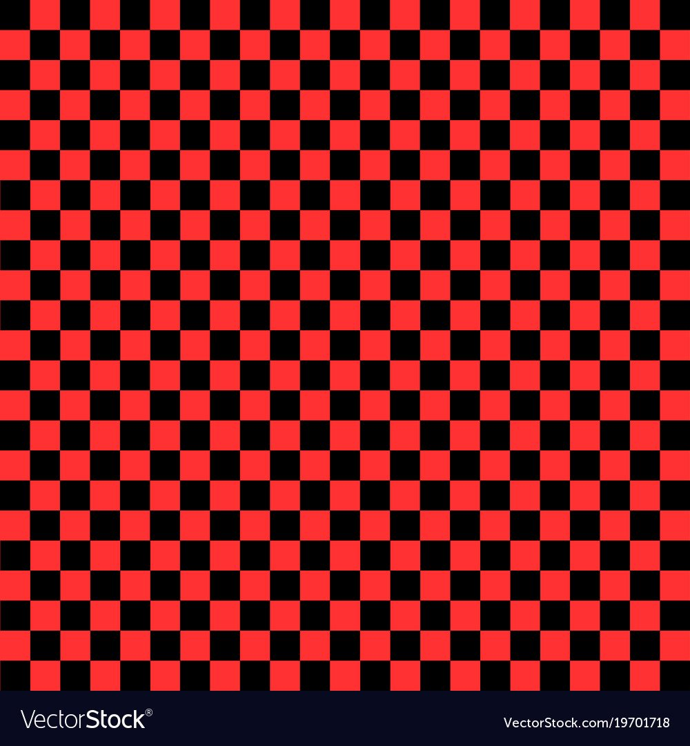 Black and red checkered background Royalty Vector Image 1000x1080