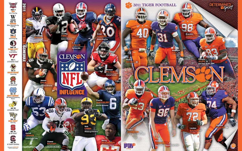 Clemson Tiger Football Desktop Wallpaper 1280 1024 1440x900
