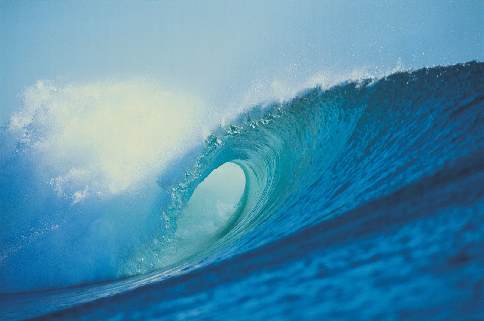 Photo Wallpaper Powerful Ocean Waves My image 1600x1063