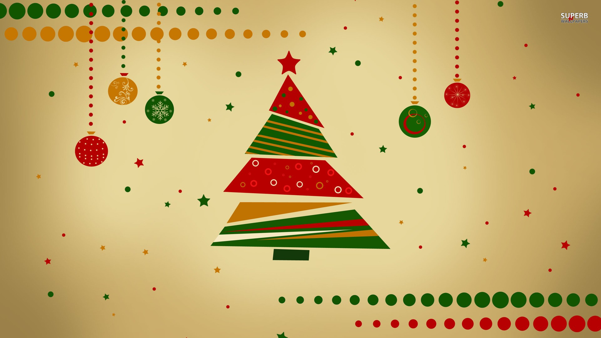 Vintage Christmas background Download stunning 1920x1080