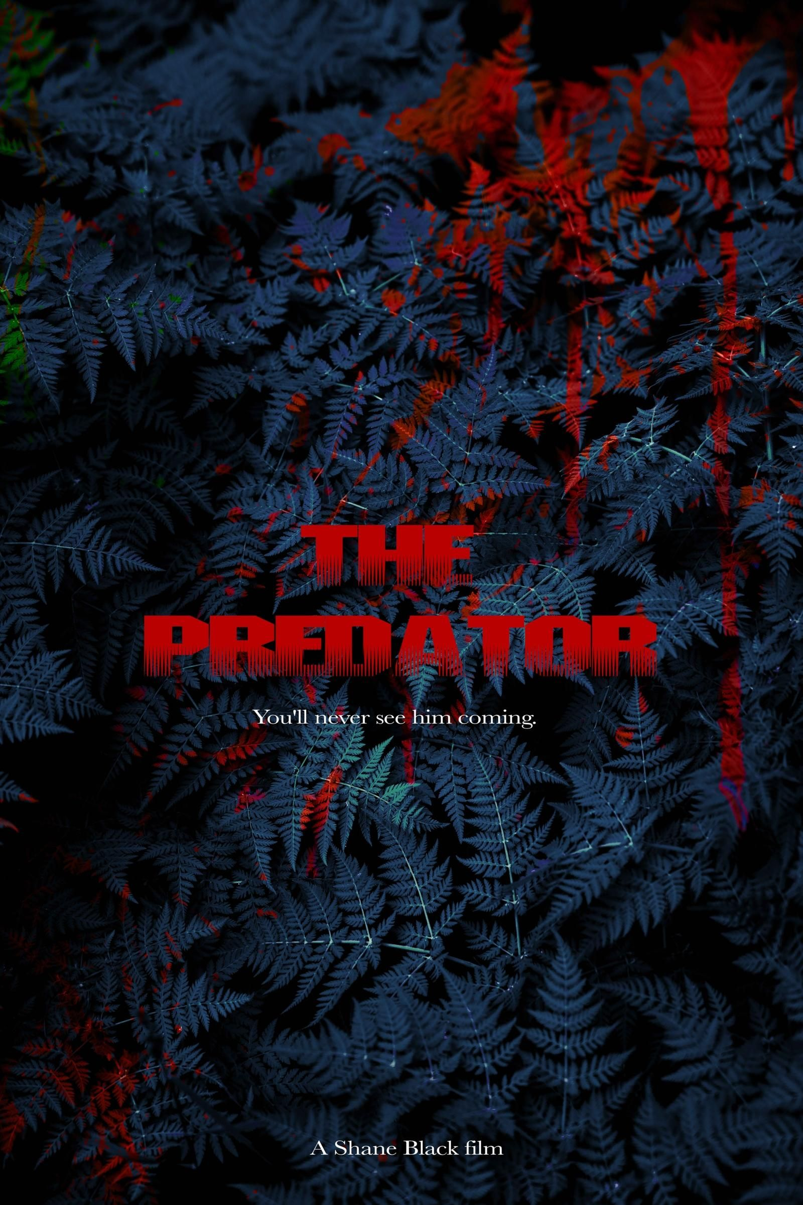 The Predator 2018 HD Wallpaper From Gallsourcecom movies in 1600x2399