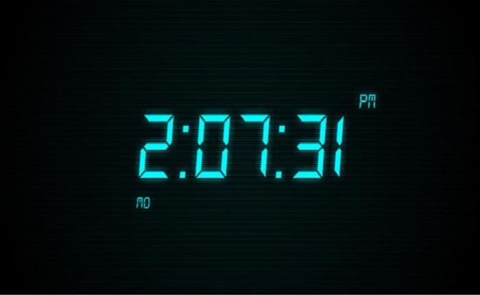 clock display screensaver wearestrongwind