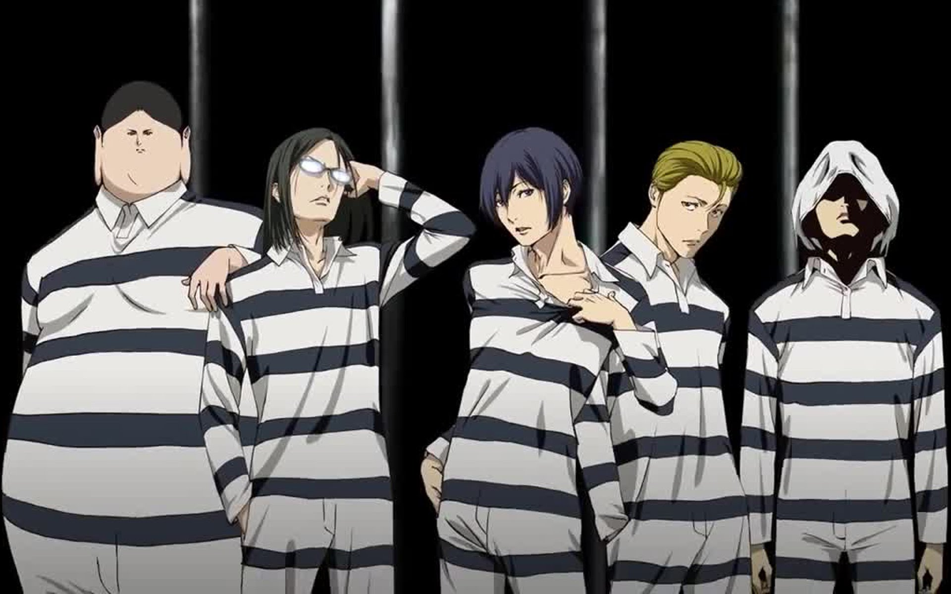 16363 prison school anime wallpaper 1920x1200